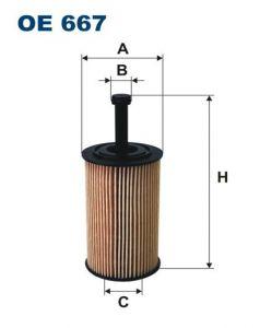 Olejový filtr Filtron OE 667