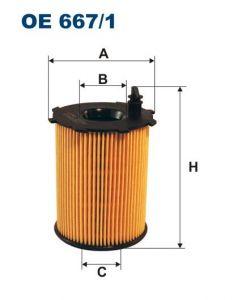 Olejový filtr Filtron OE 667/1