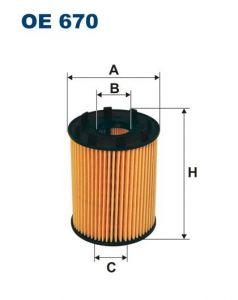Olejový filtr Filtron OE 670