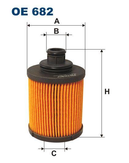 Olejový filtr Filtron OE 682
