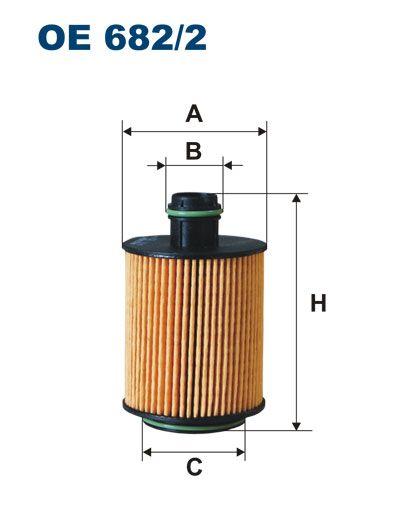 Olejový filtr Filtron OE 682/2