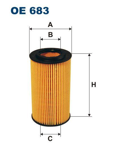 Olejový filtr Filtron OE 683