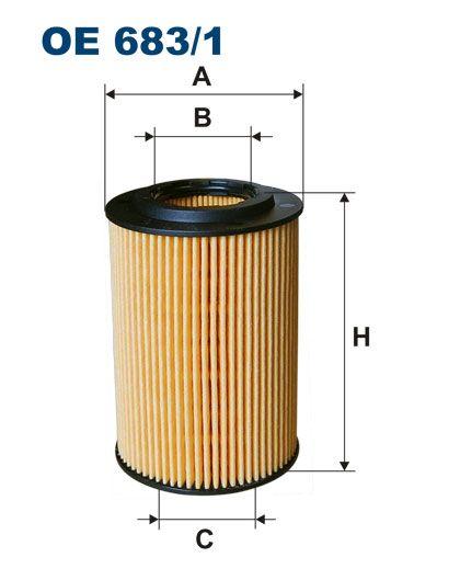 Olejový filtr Filtron OE 683/1