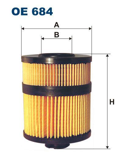 Olejový filtr Filtron OE 684
