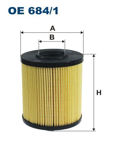Olejový filtr Filtron OE 684/1