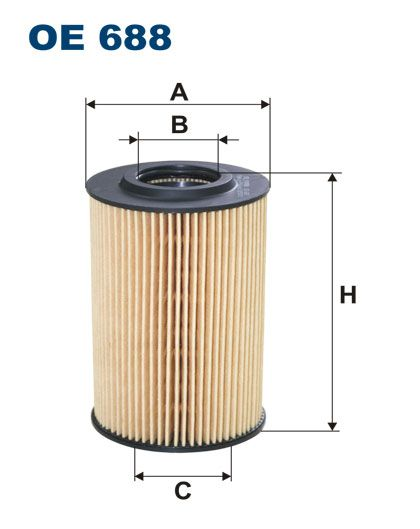 Olejový filtr Filtron OE 688