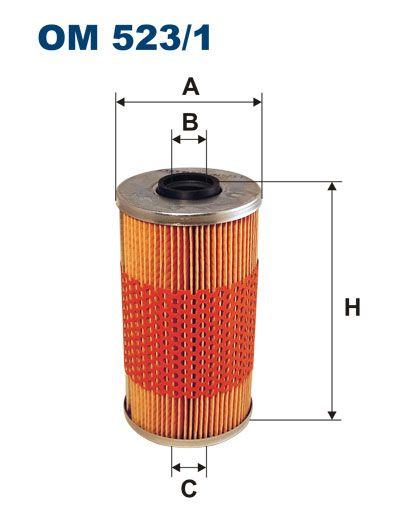 Olejový filtr Filtron OM 523/1