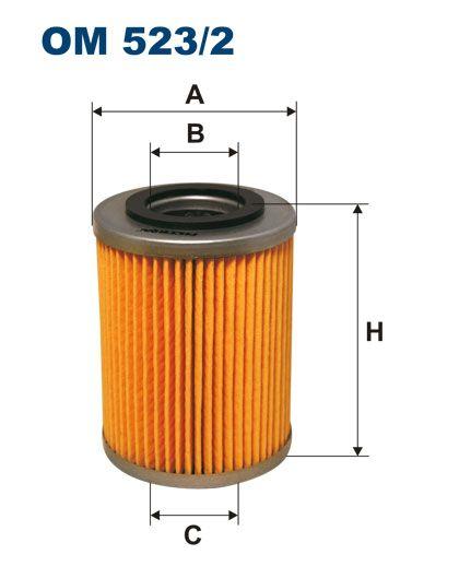 Olejový filtr Filtron OM 523/2