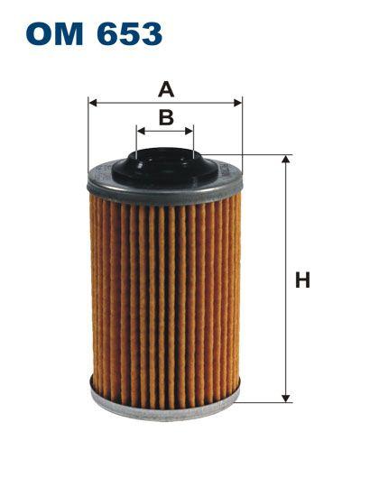 Olejový filtr Filtron OM 653