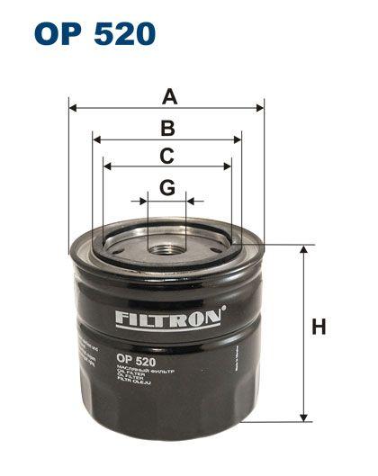 Olejový filtr Filtron OP 520
