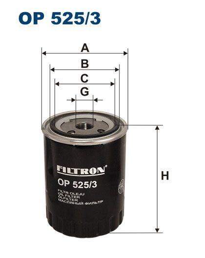 Olejový filtr Filtron OP 525/3