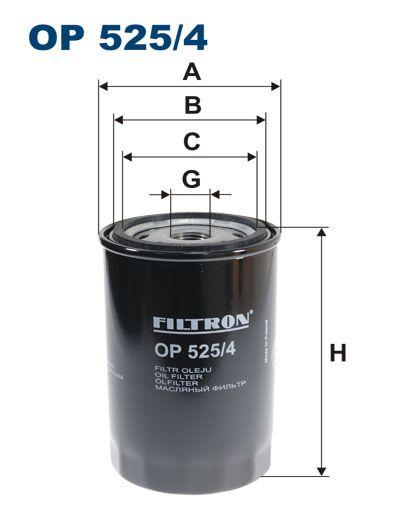 Olejový filtr Filtron OP 525/4