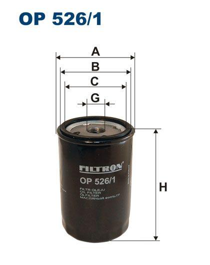 Olejový filtr Filtron OP 526/1