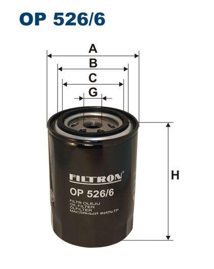 Olejový filtr Filtron OP 526/6