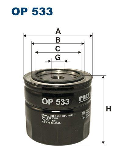 Olejový filtr Filtron OP 533