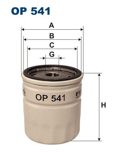 Olejový filtr Filtron OP 541