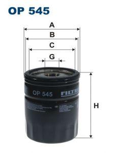 Olejový filtr Filtron OP 545