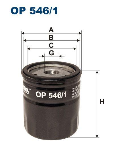 Olejový filtr Filtron OP 546/1