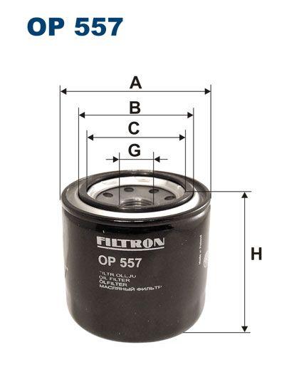 Olejový filtr Filtron OP 557