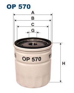 Olejový filtr Filtron OP 570