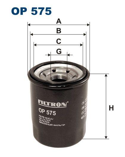 Olejový filtr Filtron OP 575