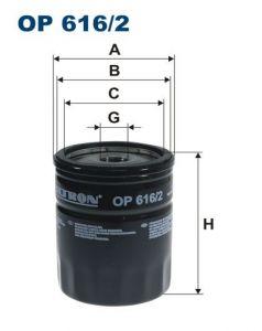 Olejový filtr Filtron OP 616/2