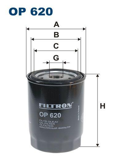Olejový filtr Filtron OP 620