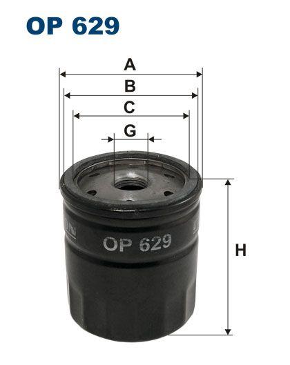 Olejový filtr Filtron OP 629
