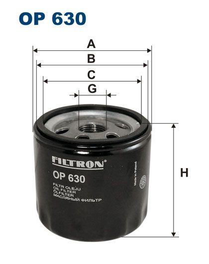 Olejový filtr Filtron OP 630