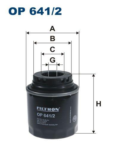 Olejový filtr Filtron OP 641/2