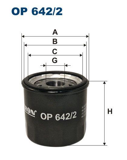 Olejový filtr Filtron OP 642/2