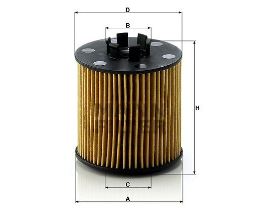 Olejový filtr Mann-Filter HU 712/6 x