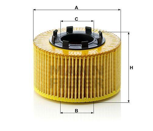 Olejový filtr Mann-Filter HU 920 x