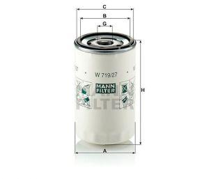 Olejový filtr Mann-Filter W 719/27