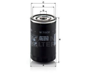 Olejový filtr Mann-Filter W 719/30