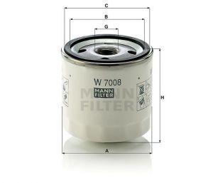 Olejový filtr Mann-Filter W 7008