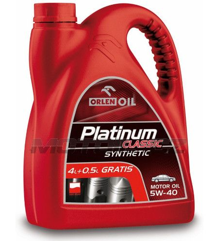 Platinum CLASSIC SYNTHETIC 5W-40 4,5L Orlenoil
