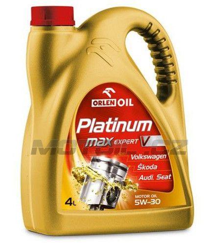 Platinum MaxExpert V 5W-30 4L Orlenoil