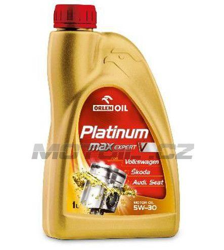 Platinum MAX EXPERT V 5W-30 1L Orlenoil