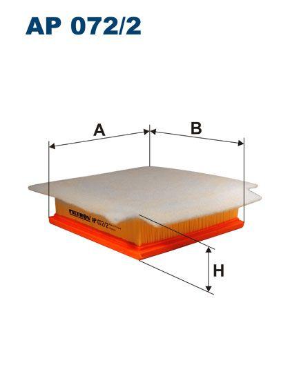 Vzduchový filtr Filtron AP 072/2