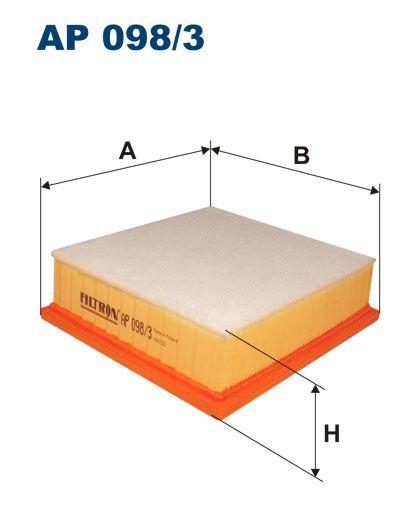 Vzduchový filtr Filtron AP 098/3