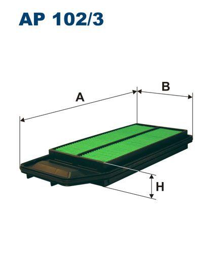 Vzduchový filtr Filtron AP 102/3