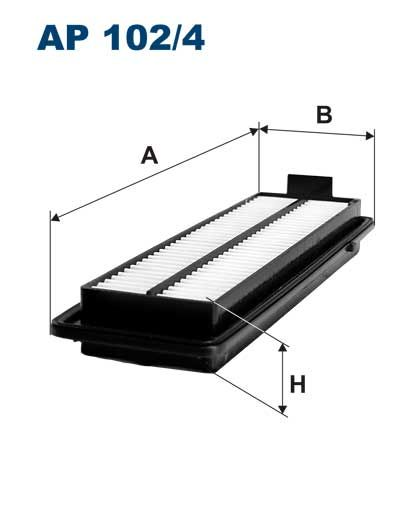 Vzduchový filtr Filtron AP 102/4