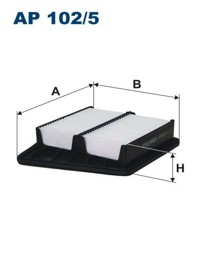 Vzduchový filtr Filtron AP 102/5