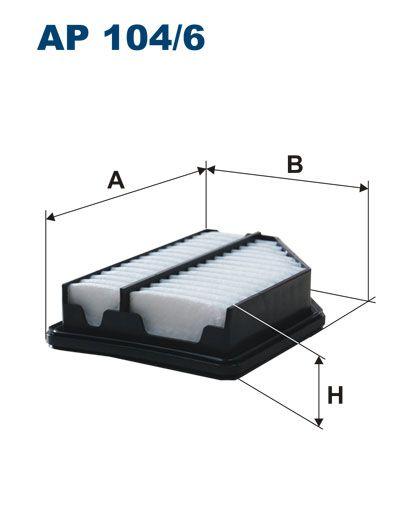 Vzduchový filtr Filtron AP 104/6