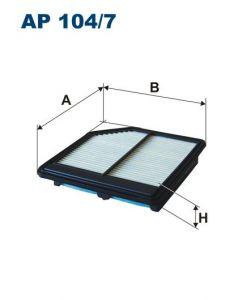 Vzduchový filtr Filtron AP 104/7