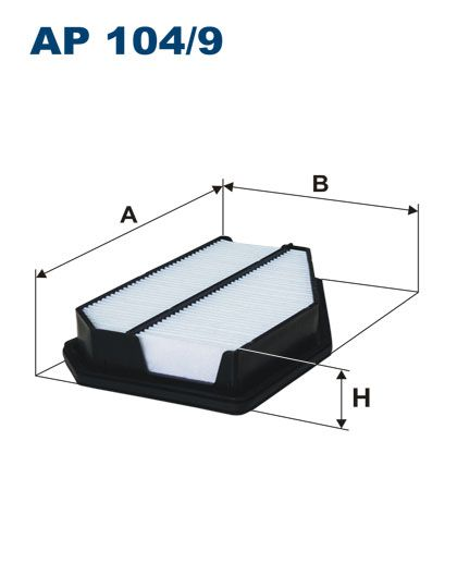 Vzduchový filtr Filtron AP 104/9