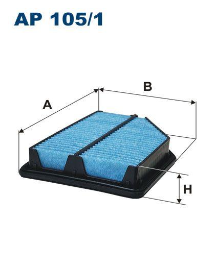 Vzduchový filtr Filtron AP 105/1