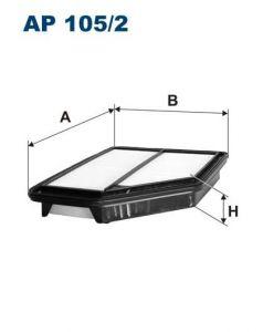 Vzduchový filtr Filtron AP 105/2