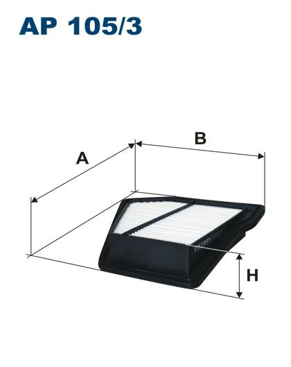 Vzduchový filtr Filtron AP 105/3